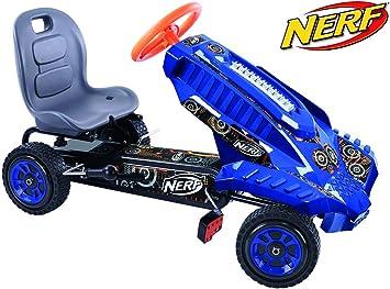 Amazon.com: Hauck Nerf Striker Go Kart Ride on: Toys & Games