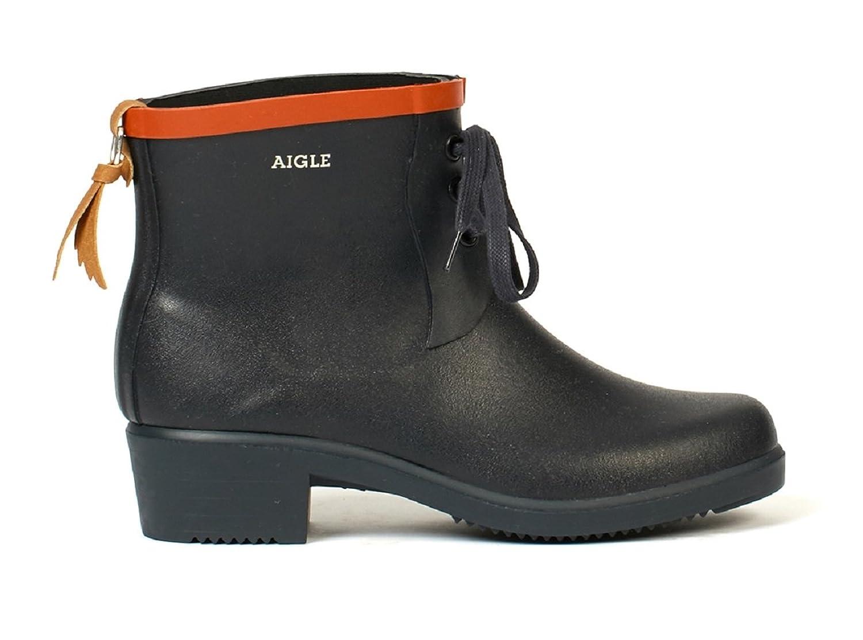 Aigle Womens Miss Juliette Bottillon Lacet Rubber Boots