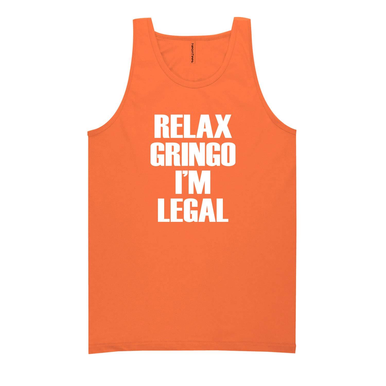 ZeroGravitee Relax Gringo Im Legal Neon Tank Top