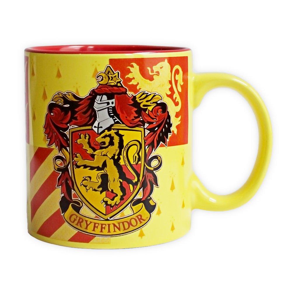 Silver Buffalo HP2634 Warner Bros Harry Potter Gryffindor Crest Jumbo Ceramic Mug, 20-Ounces