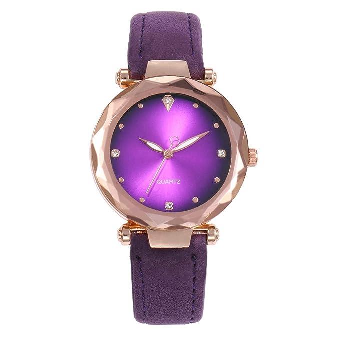 Mymyguoe Correa de Moda Reloj Reloj Mujer Relojes Hombre Unisex Reloj de Pulsera Relojes de Pulsera para Hombres Reloj Mujer Moda Reloj analogico Reloj de ...