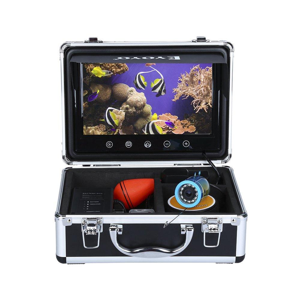 Fishing Camera 9 inch 30M Touch Screen Infrared HD 1000TVL Fish Finder Underwater Video Fishfinder