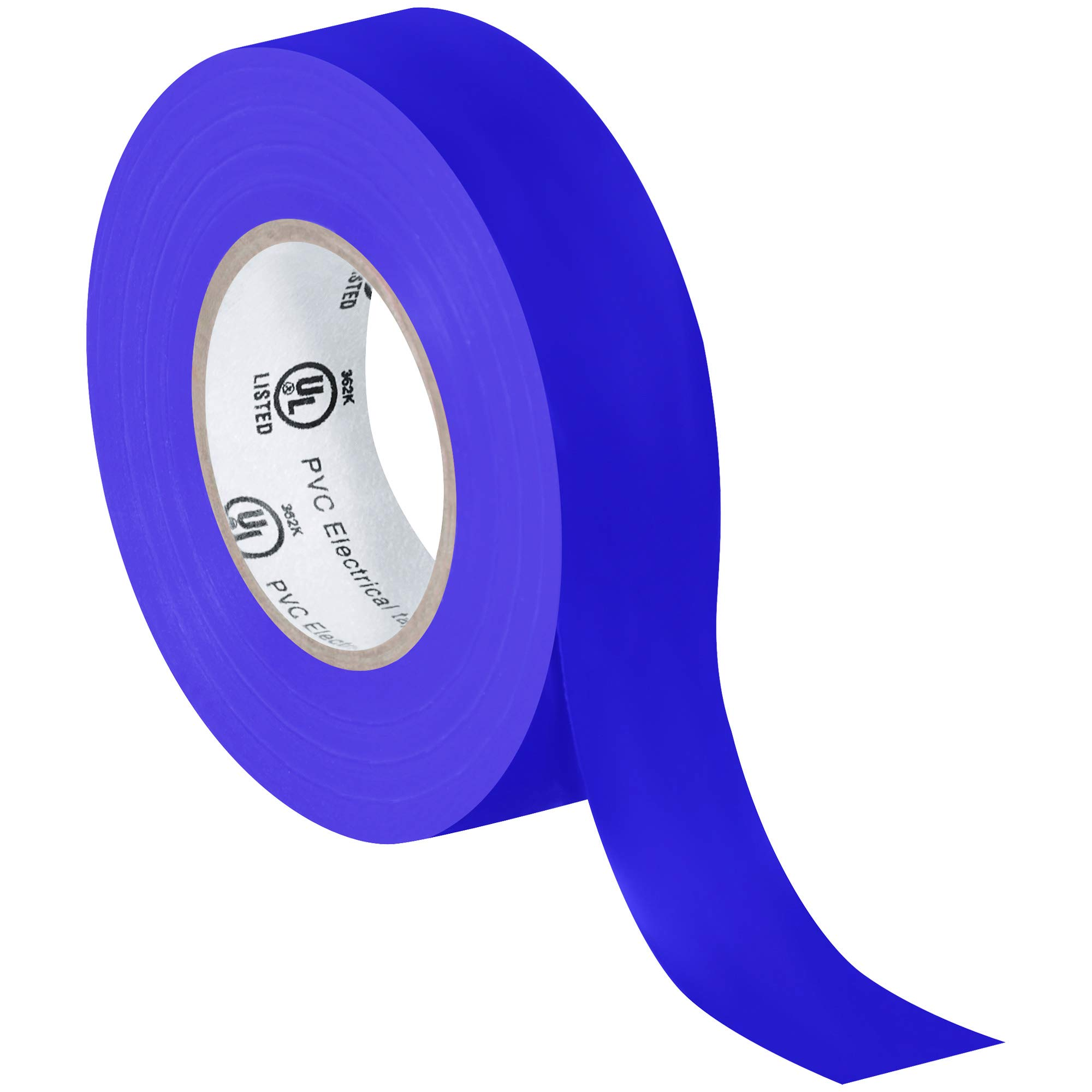 Electrical Tape, 7.0 Mil, 3/4''x 20 yds, Purple, 200/Case