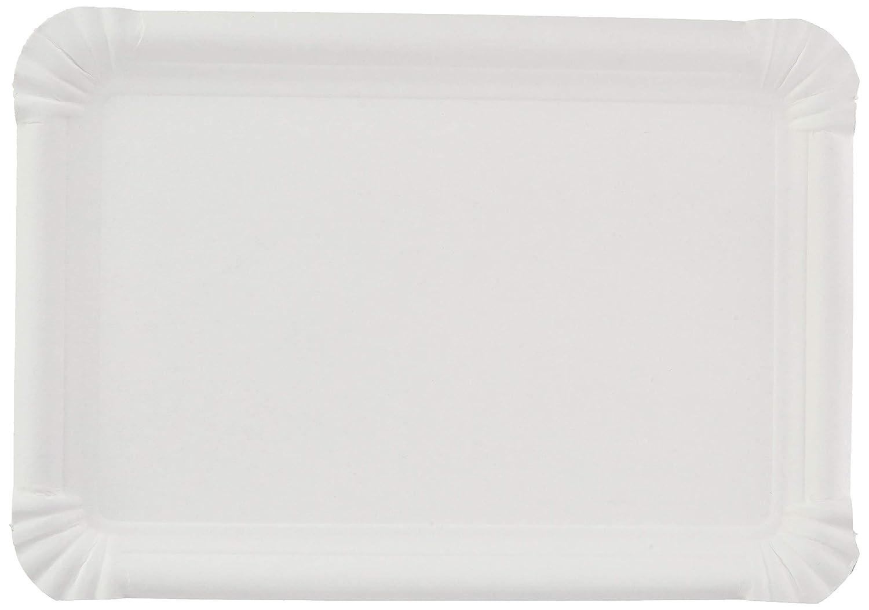 Bakery Trays - Small 23X17 Cm White Cardboard - 250 Units Garcia de Pou Garcia de Pou_320.09