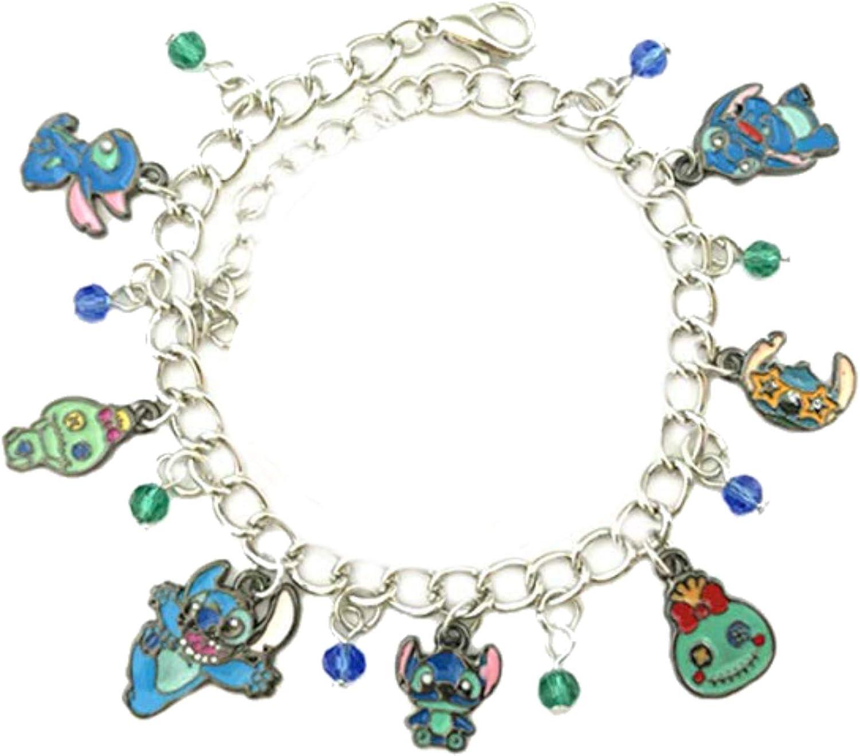 Girl Charm Bracelet Gift Cute Charm Safety Pin Charm Charm It Charm Bracelet Best Friends Gift Peace Charm Charm Charms