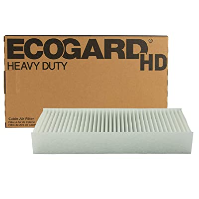 "ECOGARD XC10604HD Premium Heavy Duty Truck Cabin Air Filter (11-3/8"" x 4-3/4"" x 1-3/4"") Fits 1998-2003 Volvo VN: Automotive"