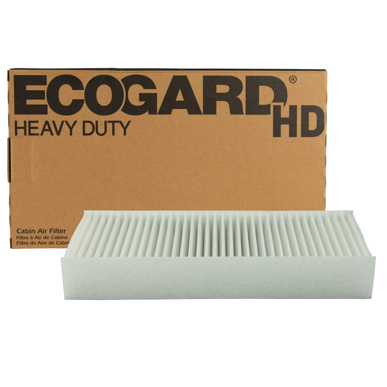 ECOGARD XC10604HD Premium Heavy Duty Truck Cabin Air Filter (11-3/8'' x 4-3/4'' x 1-3/4'') Fits 1998-2003 Volvo VN by EcoGard