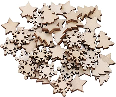 Snowflakes, Stars, Christmas Trees etc Metallic Christmas Party Table Confetti
