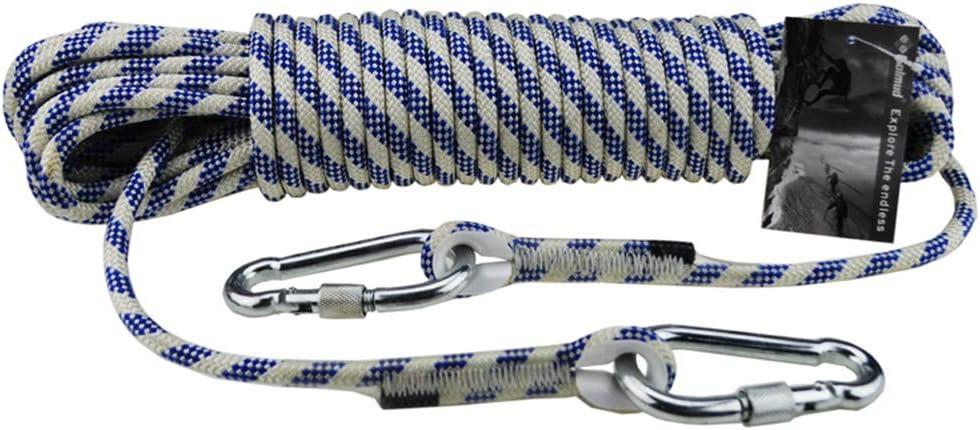 BAI-Fine Cuerda de Escalada para Exteriores, Cuerda de Nailon ...