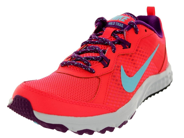 Amazon.com | Nike Women's Wild Trail Lsr Crmsn/Plrzd Bl/Brght Grp/P Running  Shoe 9.5 Women US | Trail Running