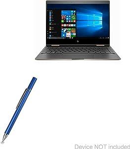 HP Spectre x360 (13t-aw100) Stylus Pen, BoxWave [FineTouch Capacitive Stylus] Super Precise Stylus Pen for HP Spectre x360 (13t-aw100) - Lunar Blue