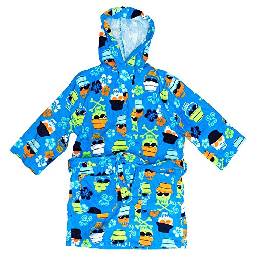 Kids Beach Cover (St. Eve Boys Swim Coverups (Small / 5-6, Blue Pirate))