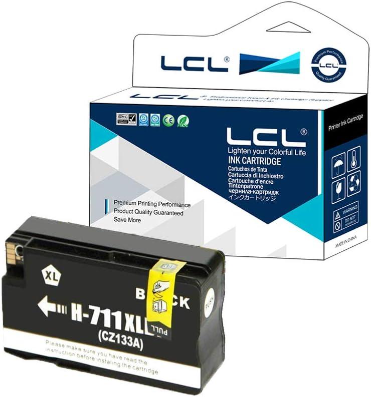 LCL Cartucho de Tinta Compatible 711XL 711 XL CZ129A CZ133A 80ML ...
