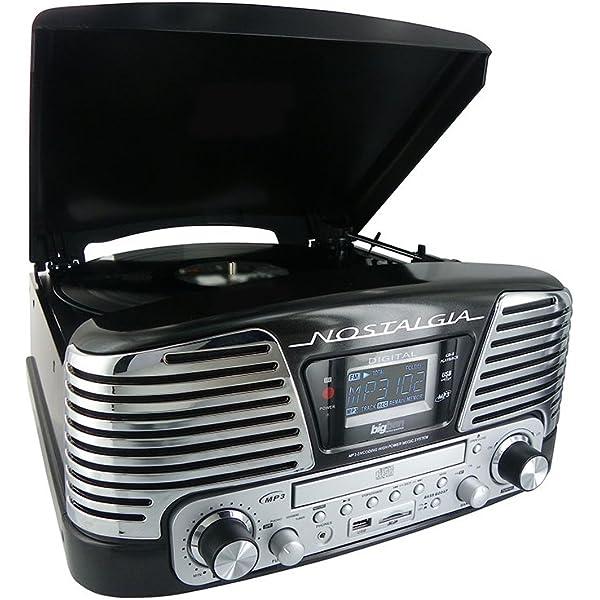 Lauson CL139 - Tocadiscos para equipo de audio, AM/FM radio ...