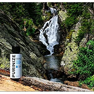 PURINIZE - Water Purifier - Natural Water Purifying Solution - Chemical Free Camping Water Purification