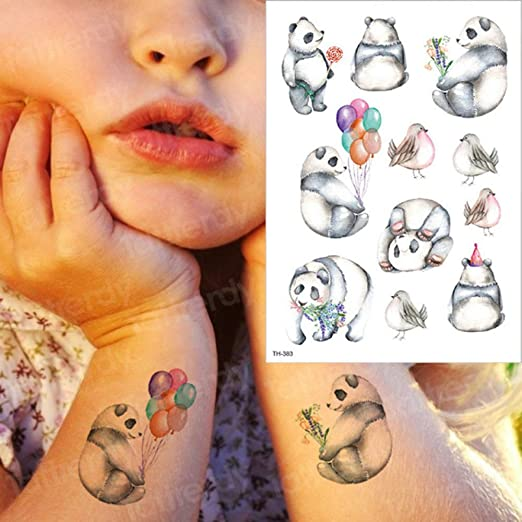 adgkitb 3 Piezas Temporal Impermeable Tatuaje Dibujos Animados ...