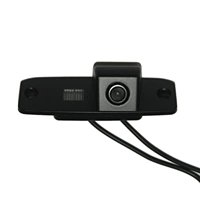 CCD Color Sony chip Car Back Up Rear View Reverse Parking Camera for Hyundai Tucson Accent Elantra Terracan Veracruz Sonata: Car Electronics [5Bkhe1006817]
