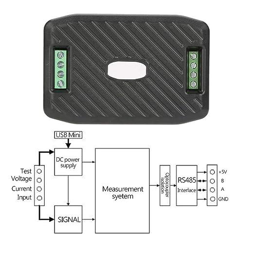 Compteur de consommation PEACEFAIR PZEM-017 Module de Communication de Compteur de consommation d/énergie /électrique #3