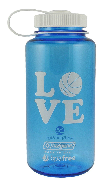 MadSportsStuff Nalgene 32 oz BPA Libre Amor Baloncesto Botella de ...