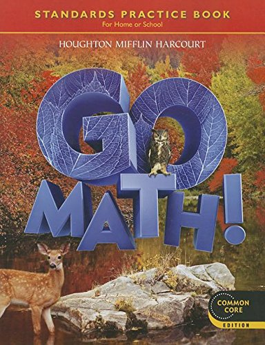 Buy Go Math! Standards Practice Book Grade 6: For Home or School