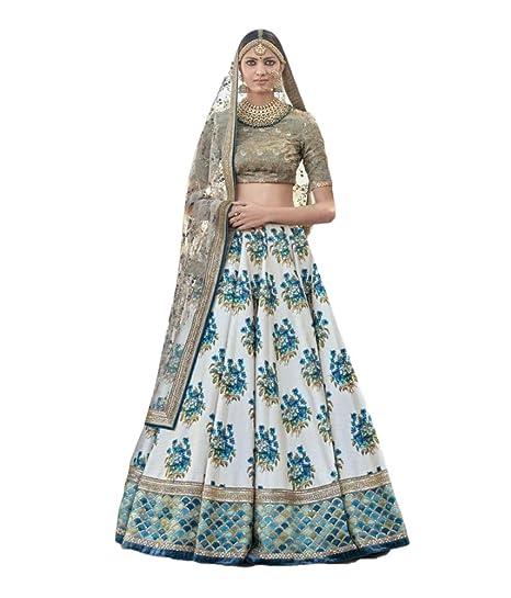 3c14f5a9d2 Image Unavailable. Image not available for. Color: REKHA Ethnic Shop Designer  Lehenga Choli Party Wear Lehenga Choli Bridal ...