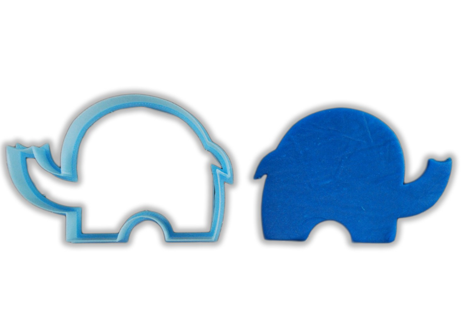 Tiny Elephant Animal Cookie Cutter - LARGE - 4 Inches