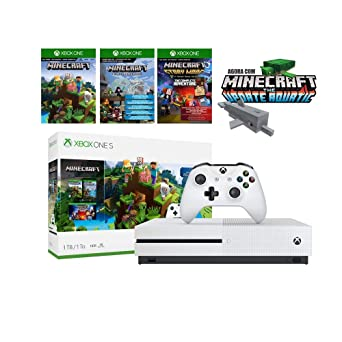 f893f7029cc0d Console Xbox One S - 1TB - Minecraft Digital: Amazon.com.br: Games