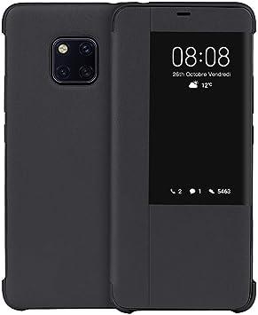 JASBON Coque pour Huawei Mate 20 Pro, étui Cuir avec Rabat de Protection Complète, Coque Anti Choc avec Carte Porte Feuille Souple pour Huawei Mate 20 ...