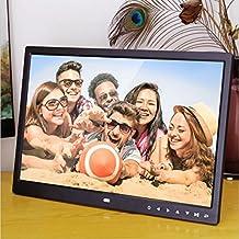 Minidiva 15 Inch 16:9 Digital Photo Frame - Ultra slim Narrow Rim 1440 x 900 High Solution Electronic Picture Frame with USB,USB mini,SD Interface(Black)