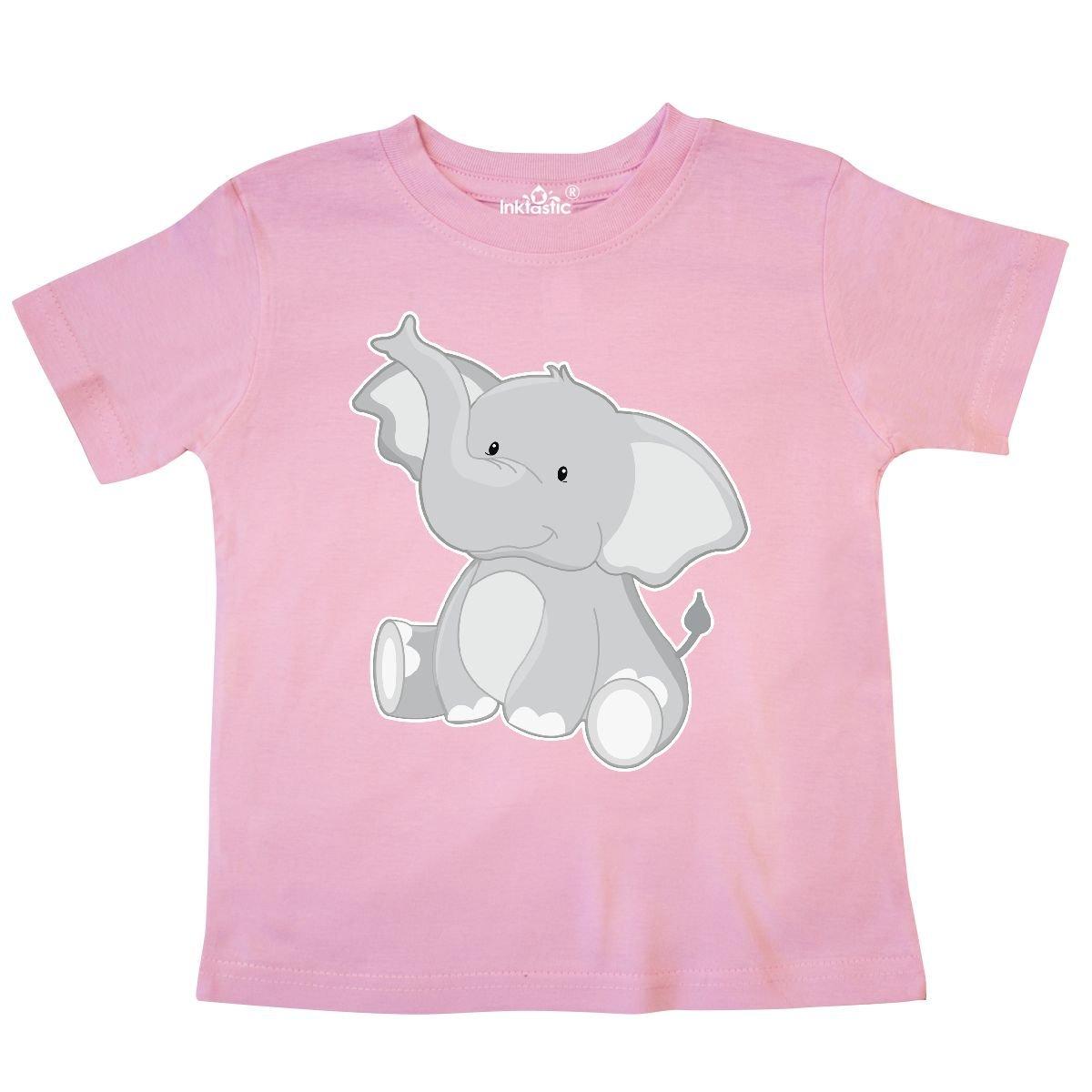 inktastic Elephant Toddler T-Shirt