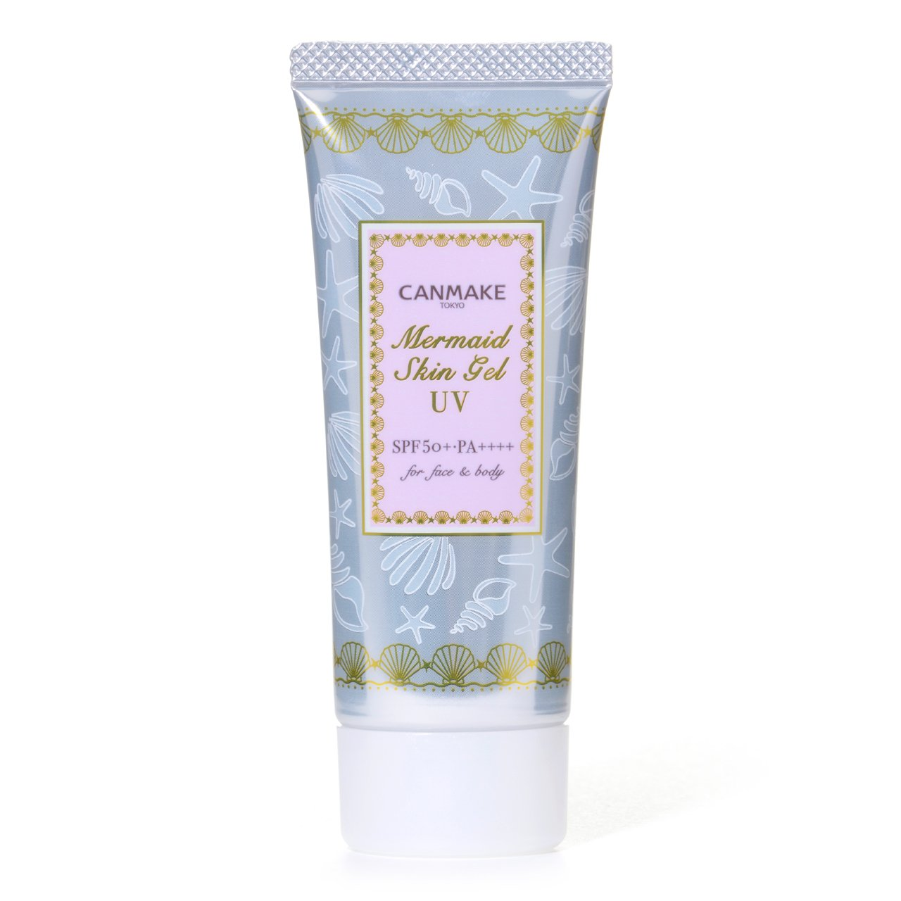Canmake Mermaid Skin Gel UV Moisturizing Sunscreen SPF50 PA++++ 40g