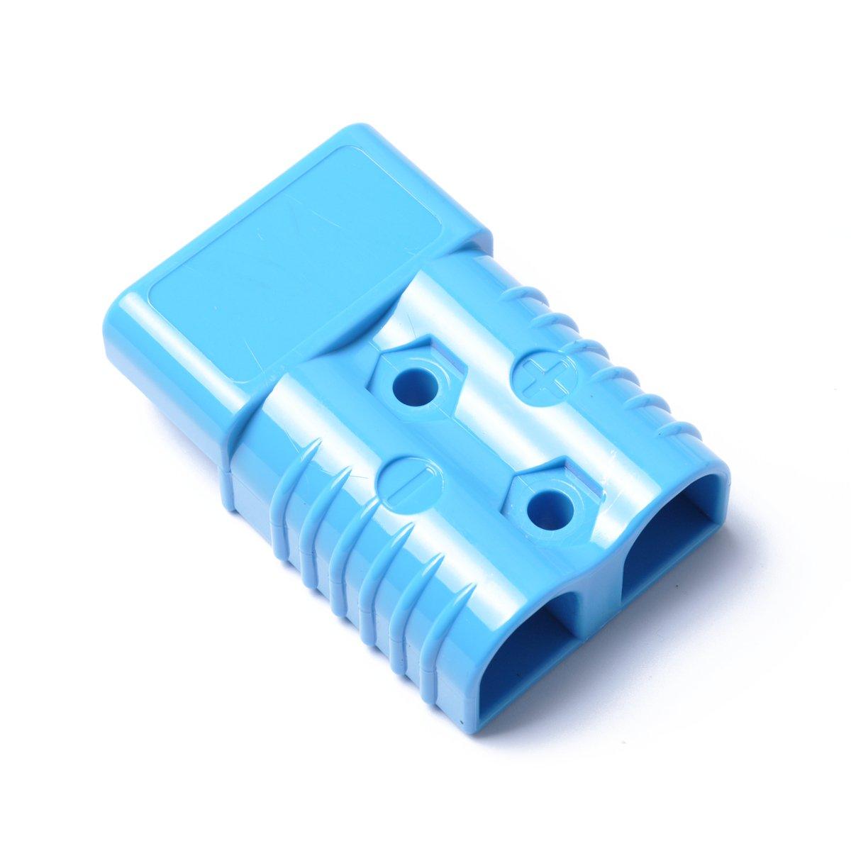 WINOMO Universal 600V 175A Conector de bater/ía Conector r/ápido para carretillas elevadoras Winch Remolque conductor Dispositivos el/éctricos azul