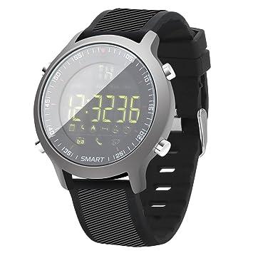Reloj Inteligente Deportivo, Rastreador de Ejercicios Pulsera Impermeable con Podómetro: Amazon.es: Deportes y aire libre