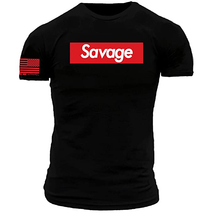 Amazon.com: Supreme Savage - Camiseta de manga corta, color ...