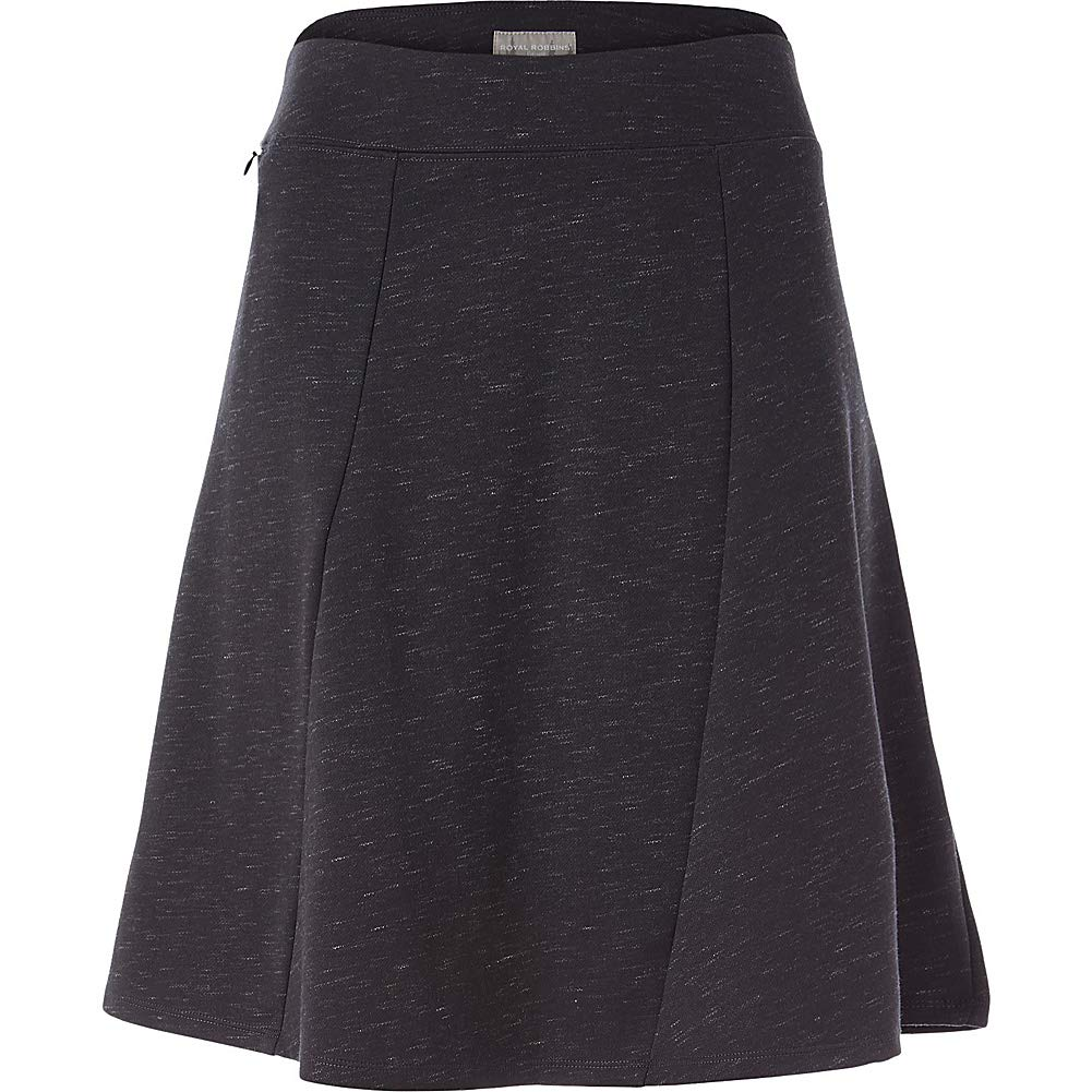 Royal Robbins Women's Geneva Ponte Skirt, Large, Charcoal Heather