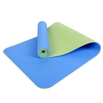 LILUO Colchoneta de Yoga de Dos Colores_TPE Yoga Mat Dos ...