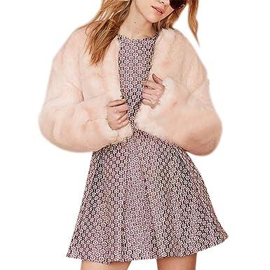 bien meilleur prix hot-vente authentique Manteau Fourrure Femme Fille Hiver Grande Taille, Manteau ...