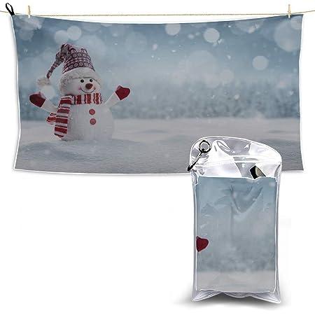 Blancanieves favorita Muñeco de nieve Toallas de microfibra ...