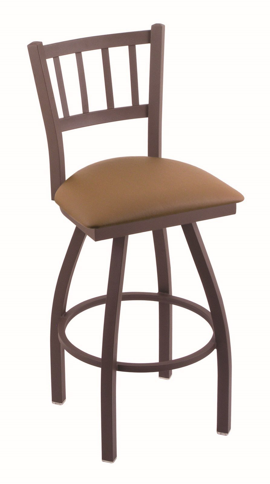 Holland Bar Stool Co. 810 Contessa 25'' Counter Stool with Bronze Finish and Swivel Seat, Allante Beechwood by Holland Bar Stool Co.
