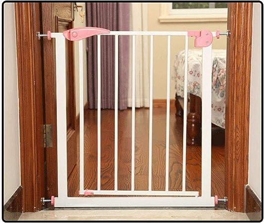 QIANDA Barrera de Seguridad Bebé Puerta de la Escalera Guardia De Escalera Compuerta De Presión Valla De Seguridad Puerta Abierta Instalación Fácil Todos Los Anchos (65cm-201cm): Amazon.es: Hogar