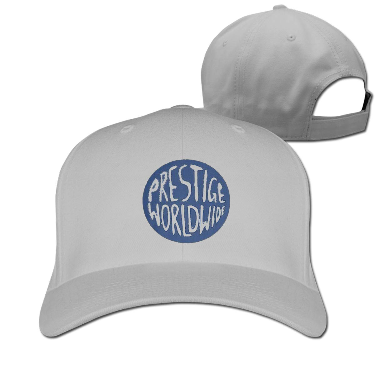 Prestige Worldwide Fashion Adjustable Cotton Baseball Caps Trucker Driver Hat Outdoor Cap Gray