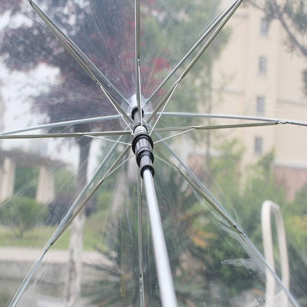 Su Qiao Fashion transparent dome shape umbrella outdoor windbreak umbrella princess weed decoration