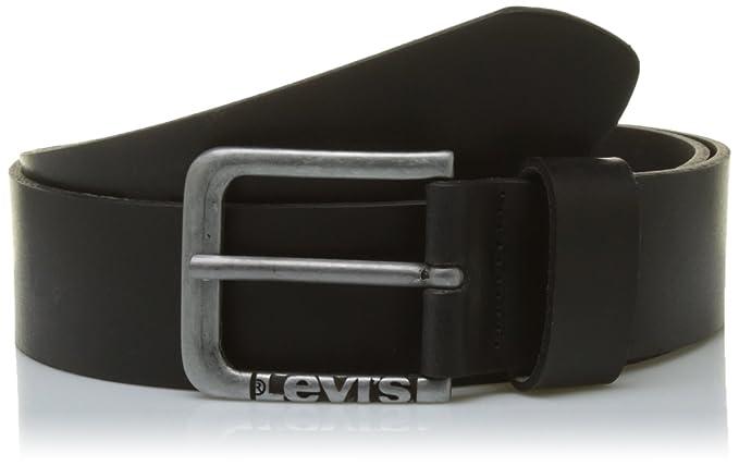Levi s LEVIS FOOTWEAR AND ACCESSORIES New Lockwood, Ceinture Homme, Noir  (Black), b7bb7d22b65