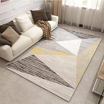 JANRON-Carpet Alfombra Sencilla Estilo nórdico, para salón ...