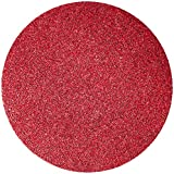 3M 01678 Hookit Red 8'' 40 Grit D Weight Abrasive Disc