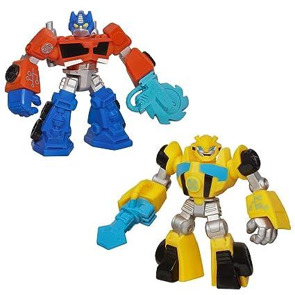 Transformers Rescue Bots Optimus Prime & Bumblebee