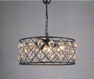 Wunderbar Lampe Wohnzimmer Hängende Kristall Rund Retro Pendelleuchte Vintage  Industrielle Hängeleuchte Beleuchtung Leuchte Innnen Hängelampe Kronleuchter  Esszimmer