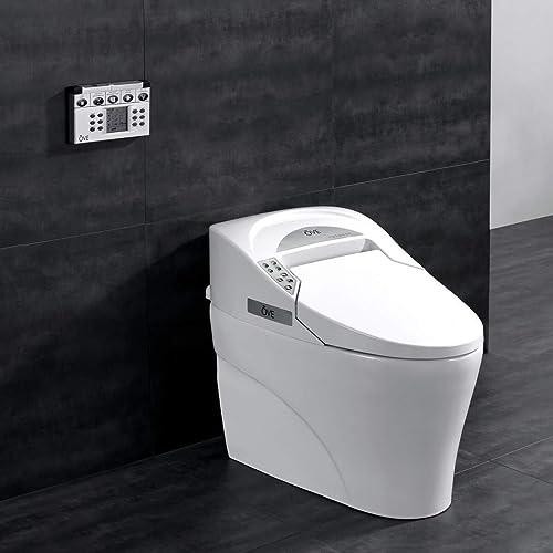Ove Decors 735H Smart Bidet Toilet Elongated One Piece Modern Desing, Automatic Flushing