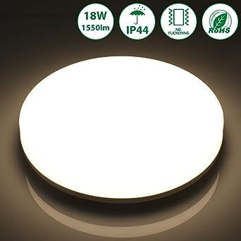 18W LED Deckenleuchte Badleuchte Deckenlampe Wohnzimmer Badezimmer Flur Lampe