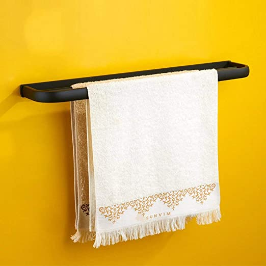 Pintura de caucho todos bronce toallero doble estante colgar toallas de baño accesorios de hardware: Amazon.es: Bricolaje y herramientas